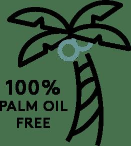 100 Palm Oil Free