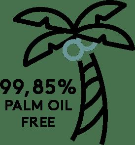 99.85 Palm Oil Free